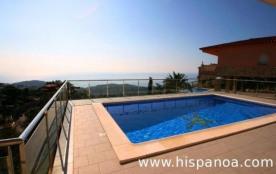 Villa en location avec vue mer, sur la Costa Bra