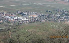 Wintzenheim vu du chateau