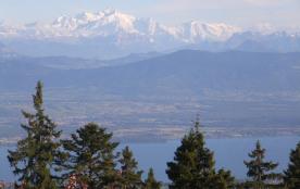 le Mont Blanc depuis le col de la faucille