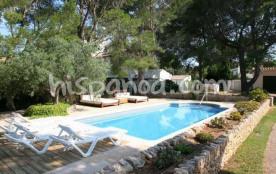 Louer en Espagne - villa climatisée proche plage à Ametlla
