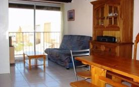 Narbonne Plage (11) - Front de Mer - Résidence les Balcons de la Méditerranée. Appartement 2 pièc...