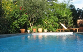 Maison indépendante de plain pied proche de la demeure des propriétaires avec piscine.