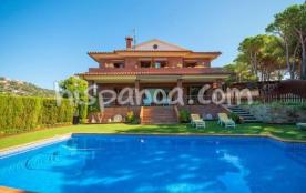 Villa située proche de la plage de Lloret