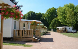 Camping des Halles - Mobil-home Domino