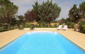 gite des planétes (piscine privée) gard - Allegre Les Fumades