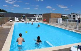 Camping L'Atlantys - Coco sweet est un nouveau concept tout équipé sur 16m² avec terrasse avec au...