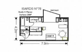 Studio 6 personnes (ISA76)