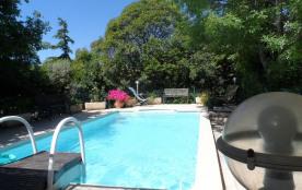 LA GARDE entre Mer et Montagne Grand F2 dans rdc Villa /piscine privée