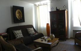 Salon de l'appartement Vieux Port vue mer