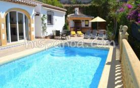 Location belle villa avec piscine privée - Garantie Hispanoa