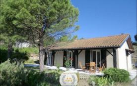 Gîtes de France - Maison indépendante de plain pied, exposée plein sud.