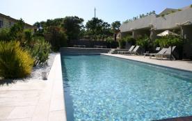 Appartement dans résidence**** piscine tennis 600m de la plage