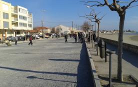 promenade front de mer, nombreux commerces