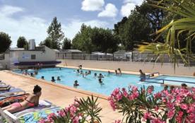 Camping Bellevue - NOUVEAUTÉ - LODGE Résidentiel 4 saisons avec terrasse (3 chambres) 31 m² avec ...