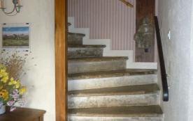 L'escalier d'accés aux chambres