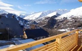 Appartement pour 10 personnes : Terrasse et Loggia 21 m Sud/Ouest