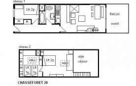 Appartement duplex 3 pièces 6 personnes (20)
