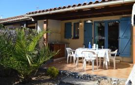 Résidence les Eaux Vives I, pavillon 2 pièces mezzanine de 35 m² environ pour 6 personnes située ...