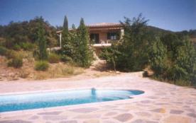 GARD, SOUDORGUES, Belle villa , 6 pesonnes, piscine privée dans magnifique environnement que sont...