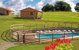 Gite à la ferme avec piscine chauffée, au calme, en pleine nature