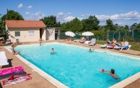 VivaCamp La Grappe Fleurie - Cottage Loft 32m² / 3 chambres - terrasse couverte