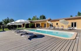 Villa tropézienne grand confort à Grimaud