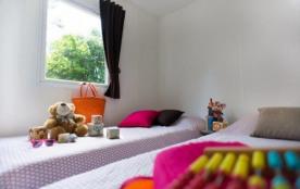 Camping les Dunes de Contis 3* - Mobil home Esprit + 4/6 pers 2ch avec terrasse