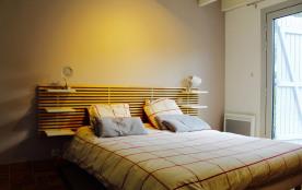 Chambre sur terrasse sud lit 160