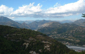 Views over the alpes from Gattieres