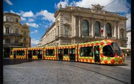 Le tramway à Montpellier