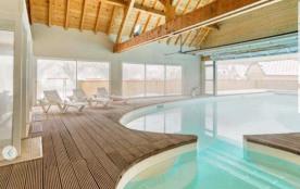 PromoLuchon appart rez jardin 6 pers 2 chb piscine tarif bas toute l'année résidence 3* - Bagnères de Luchon