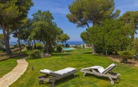Bastide vue panoramique mer exceptionnelle, havre de paix et de luxe, piscine à débordement, jaccuzi