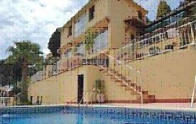 Cette villa est située dans le secteur chic de Font de Sant Llorenc.Vues étonnantes sur l'environ...