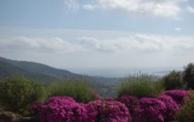 Gite a la campagne avec vue mer en Corse du sud