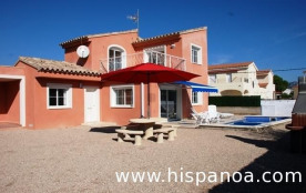 """Location villa avec piscine située dans le quartier """" Las 3 Calas """" est à 4 kms de la plage ! A 6..."""