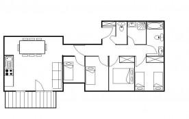 Appartement 5 pièces 10 personnes (21)
