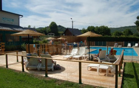 Camping*** Le Repos du Baladin, 63 emplacements, 28 locatifs
