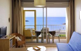 Appartements meublés de standing avec jardin ou terrasse, la mer et la plage au pied de la Résidence.