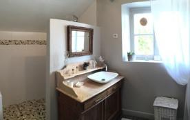 salle de bains : douche à l'italienne