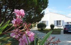 Villa 7 pers à 80m de la plage-jardin clos 1000m² au calme à l'abri des regards