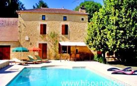 Location de cette maison en Dordogne amén