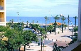 bel appartement à Saint Cyprien avec vue sur mer à 60 metres de la plage