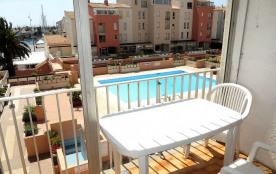 Appartement résidence Port Richelieu 4 au centre port du Cap d Agde