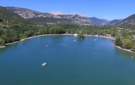 Camping Les Rives du Lac, 112 emplacements, 24 locatifs