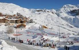 ORCIERES Merlette, 12 personnes, pour le ski et les promenades.
