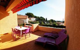 Appartement T2 climatisé avec terrasse et vue imprenable panoramique