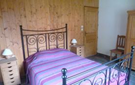 chambre N°1 : lit double rez-de-chaussée