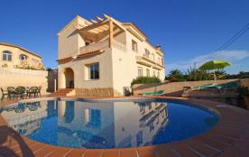 Villa à Calpe / Calp qui possède 4 chambre(s) et Capacité pour 9 personnes.