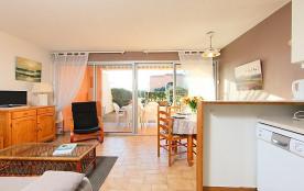 Appartement pour 3 personnes à Cap d'Agde