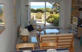 Appartement vue mer à 100 m de la plage